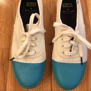 Kate Spade Keds tennis shoes, size 8